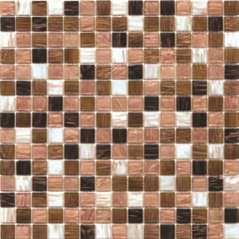Mosaico Mix gold light 32,7 x 32,7 cm marrone