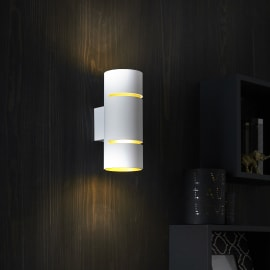 Applique LED integrato Tubbo bianco Ø 11,2 cm