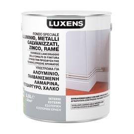 Fondo Luxens per alluminio galvanizzato e lamiere zincate grigio 2,5 L