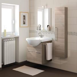 Mobili bagno prezzi e offerte mobiletti bagno sospesi o a terra for Arredo bagno componibile
