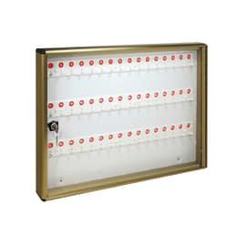 Bacheca porta chiavi 48 posti bronzo 55 x 5 x 40 cm