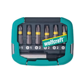 Set inserti Wolfcraft