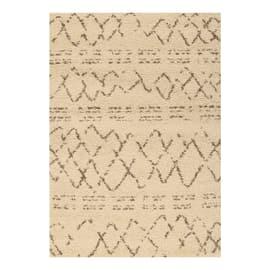 Tappeto Berber crema 200 x 290 cm