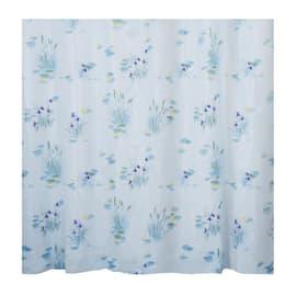 Tenda doccia Canneto azzurra L 180 x H 200 cm