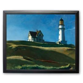 Stampa incorniciata Lighthouse 45 x 55 cm