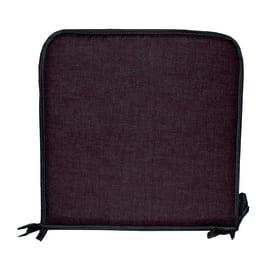 Cuscino per sedia Lastrina marrone 38 x 38 cm