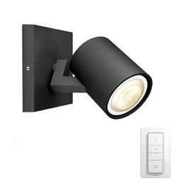 Faretto singolo Philips Hue Runner nero