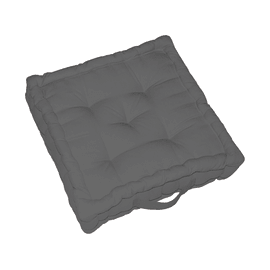 Cuscino da pavimento Elema grigio 60 x 60 cm