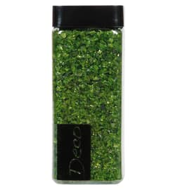 Sassi vetro decorativi verde 0,8 g