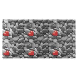 Passatoia Surf Full Cuori grigio 55 cm