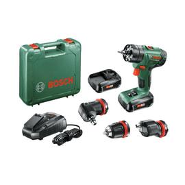 Trapano avvitatore con percussione Bosch AdvanceImpact 18 QuickSnap, 18 V 1,5 Ah, 2 batterie