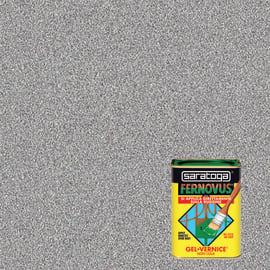 Smalto per ferro antiruggine Saratoga Fernovus grigio metallizzato 0,75 L