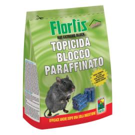 Esca topicida Flortis  blocchetto paraffinato 300 g
