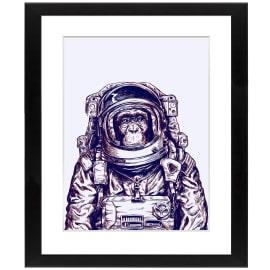 Stampa incorniciata Astronauta 40 x 50 cm