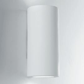 Applique Gesso Banjie bianco Ø 16 cm