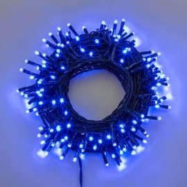 Catena luminosa 180 minilucciole Led blu 17,1 m