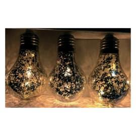 Catena luminosa 20 lampadine E14 Led classica gialla 12 m