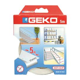 Nastro antiscivolo Geko bianco 5 m x 2 mm