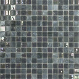 Mosaico Mix plus 32,7 x 32,7 cm blu, grigio