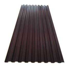 Lastra grecata coibentata Grek-Air in acciaio 100 x 223  cm, spessore 10 mm