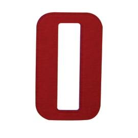 Numero adesivo 0