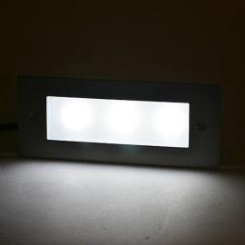Faretto incasso per esterno a parete Dover LED 21 x 8,5 cm IP44