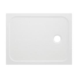 Piatto doccia resina Mila 90 x 70 cm bianco