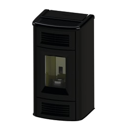 Stufa a Pellet Beauty 12,7 kW nero