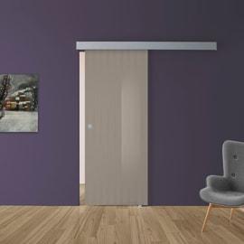 Porte scorrevoli esterno muro con binario prezzi e offerte for Leroy merlin porta scorrevole
