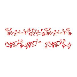 Stencil Fiori N. 128