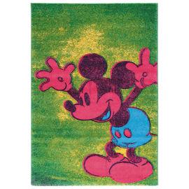 Tappeto Disney premium mickey popart multicolore 133 x 190 cm