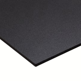Lastra PVC espanso nero 1000 x 500  mm, spessore 3 mm