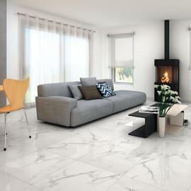 Piastrella Casablanca H 60 x L 60 cm PEI 4/5 bianco