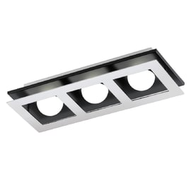 Applique Bellamonte nickel, in metallo, LED integrato 3W