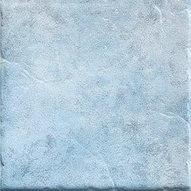 Piastrella Perù H 20 x L 20 cm azzurro