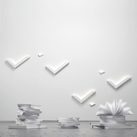 Applique VI99 bianco, in metallo, 24x46 cm, LED integrato 10W LUMICOM