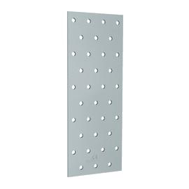 Piastra dritta acciaio zincato L 300 x Sp 2 x H 75 mm
