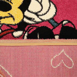 Tappeto Minnie on swing premium multicolor 190x133 cm