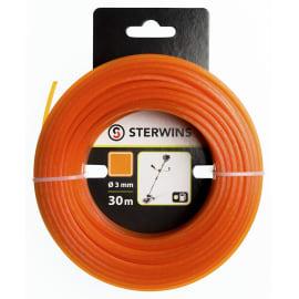 Filo STERWINS per decespugliatore L 90 m Ø 3 mm