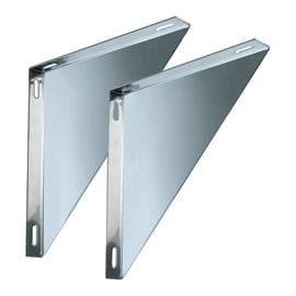 Staffa Coppie supporti per piastre mono parete DN 120 L 220 x H 30 mm Ø Dn 120 Mono parete mm