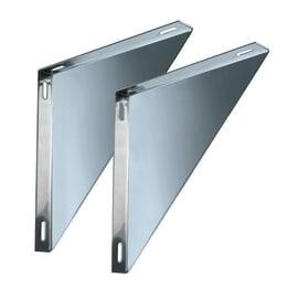 Staffa Coppie supporti per piastre mono parete DN 150 L 250 x H 30 mm Ø Dn 150 Mono parete mm
