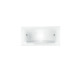 Applique I-061228-3 trasparente, in vetro, 15x30 cm, E27 MAX60W IP20