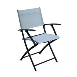 Sedia NATERIAL in acciaio colore bianco