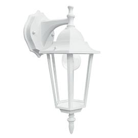 Applique discendente Milano in alluminio, bianco, E27 MAX60W IP44