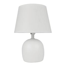 Lampada da comodino Poki bianco, in tessuto, E14 MAX 40W IP20 INSPIRE