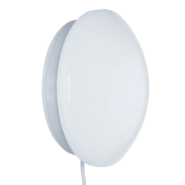 Applique CCT Tiny Modica bianco, in plastica, LED integrato 4W 450LM IP20 INSPIRE