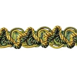 Passamaneria oro, verde