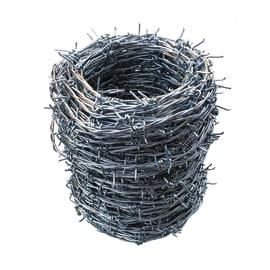 Filo spinato Zincato grigio in acciaio galvanizzato 50 m