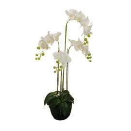Fiore artificiale Orchidea in Real Touch H 104 cm
