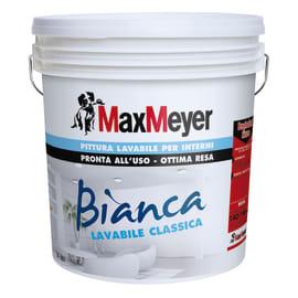 Pittura murale Bianca MAX MEYER 14 L bianco